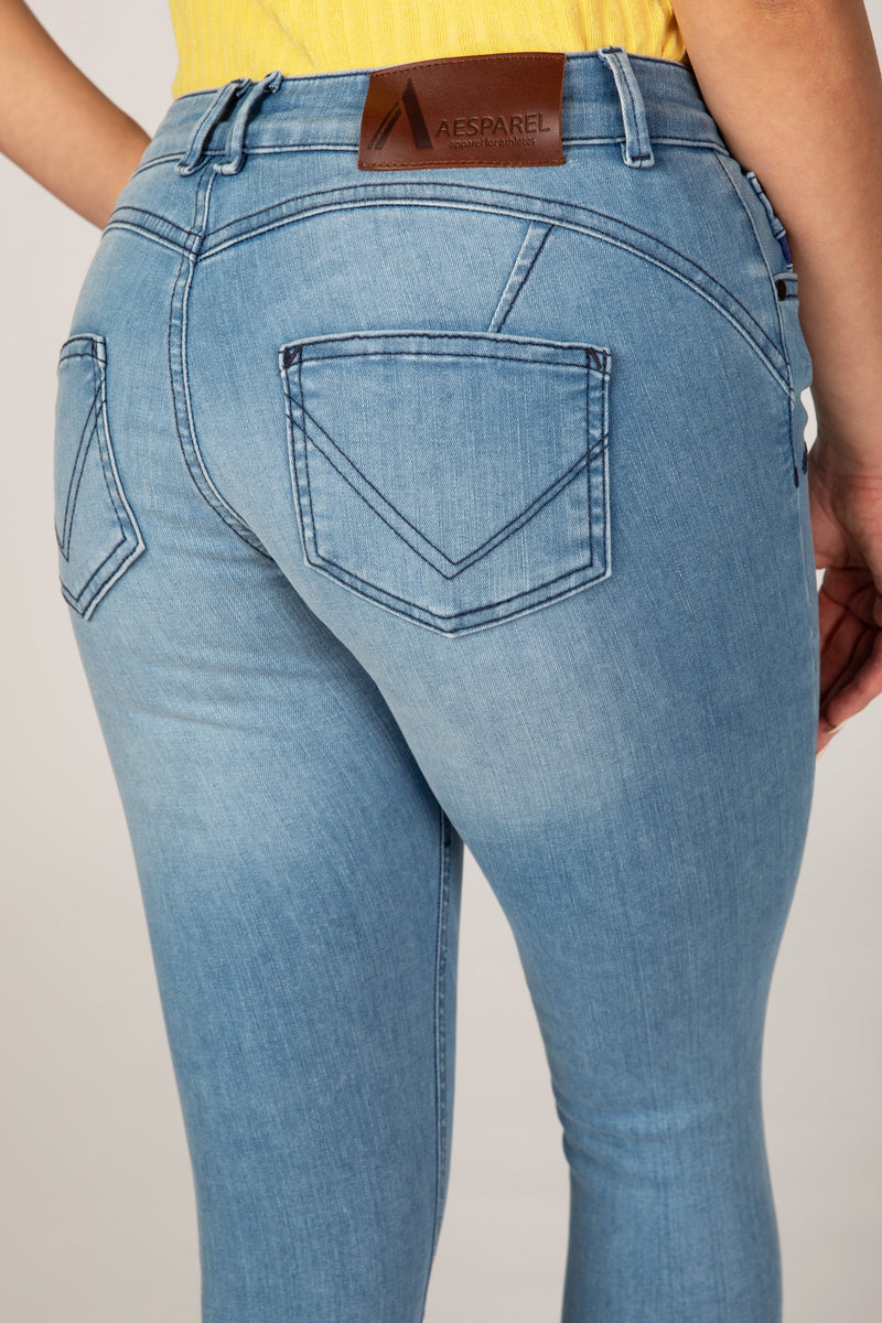 BODY FIT ANKLE FREE WOMEN'S JEANS - SUMMER BREEZE (4480775880785)