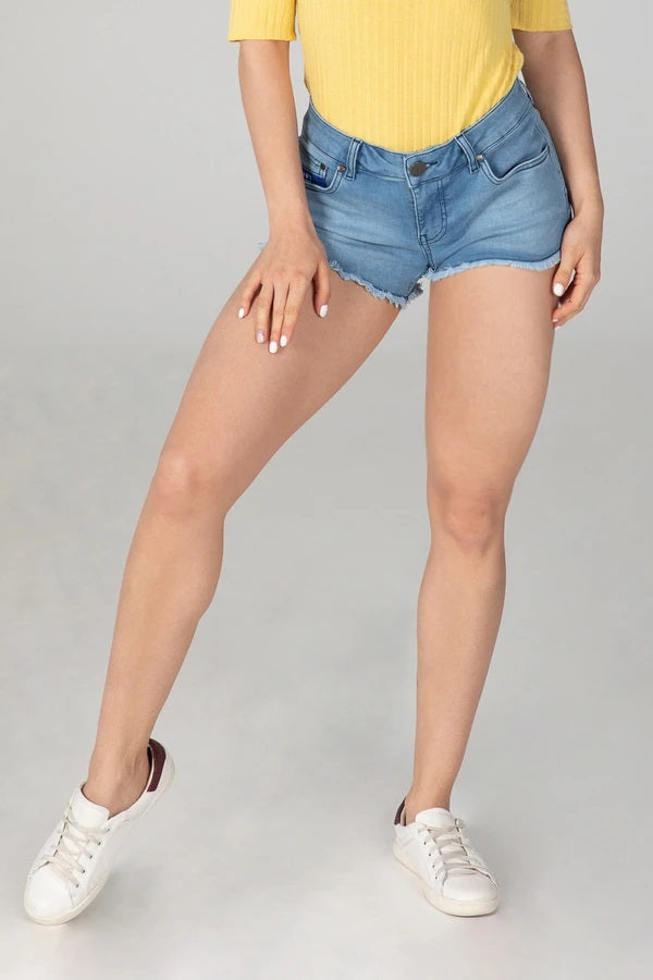 BODY FIT WOMEN'S JEANS SHORTS - SUMMER BREEZE