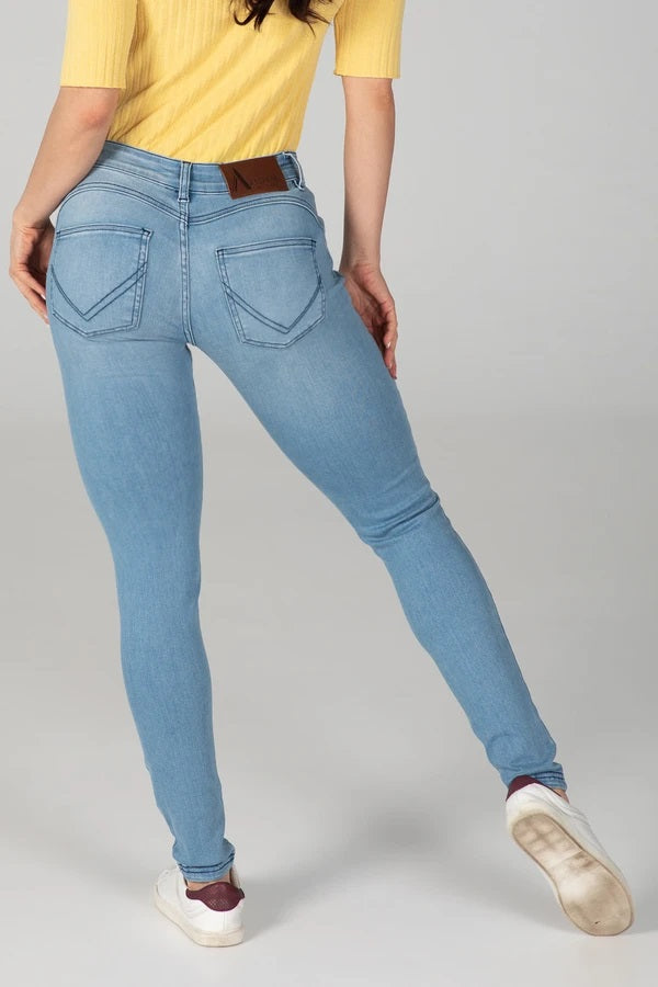 BODY FIT WOMEN'S JEANS - SUMMER BREEZE