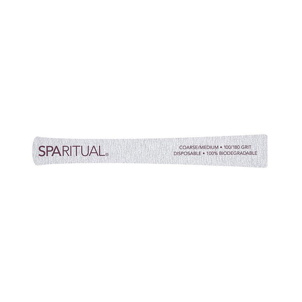 Zebra Board Eco-Nail File 5pc 100/180 Grit | Sparitual