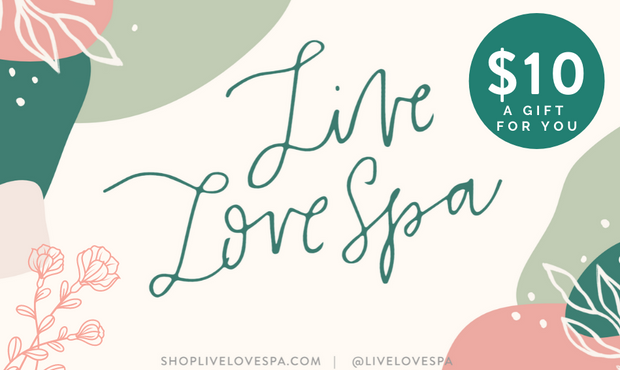 Gift Card | Live Love Spa