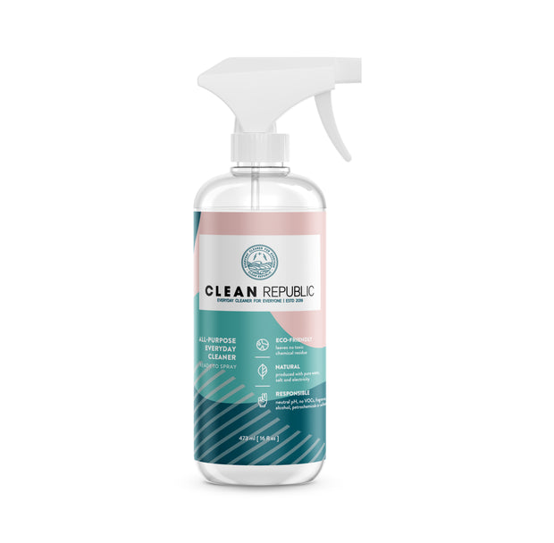 Clean republic natural disinfectant cleaner