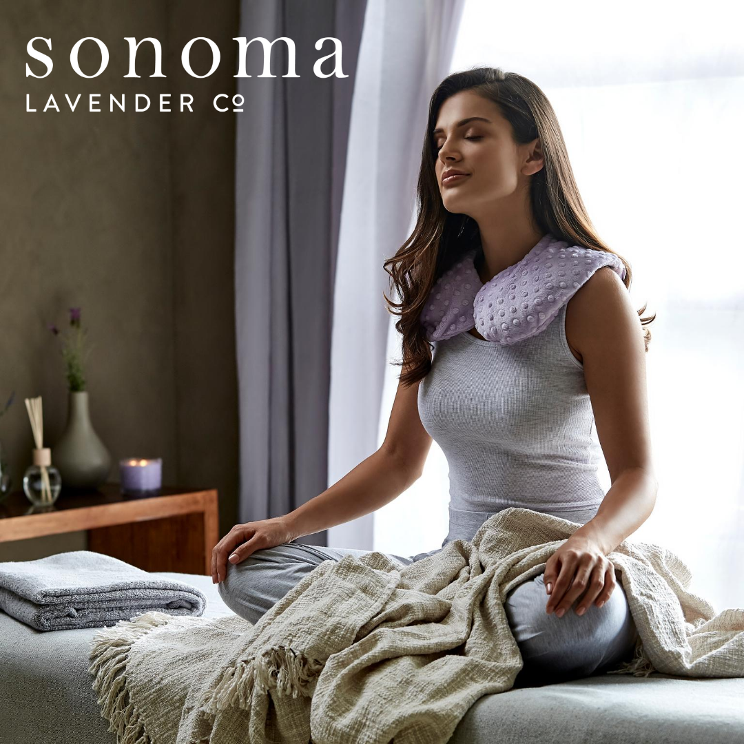 EUCALYPTUS NECK PILLOW | Sonoma Lavender