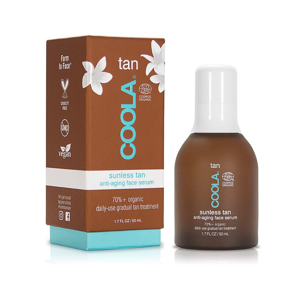 Organic Sunless Tan Anti-Aging Face Serum | COOLA