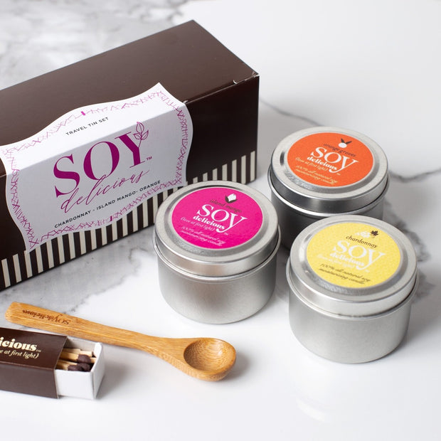 Travel Tin Set | Soy Delicious