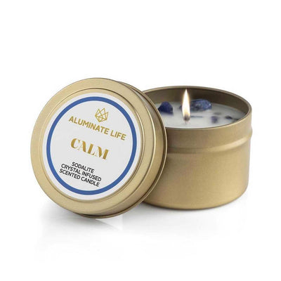 Calm Candle Tin | Aluminate Life