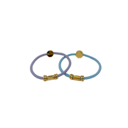 By Lilla Gold Barre hair tie