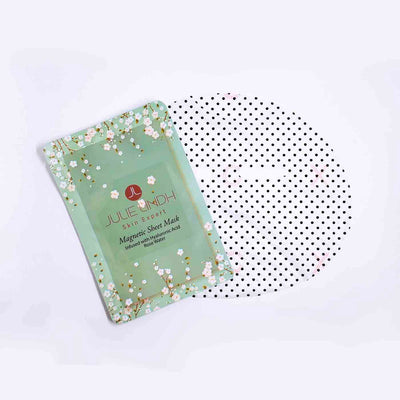 Bio-Magnetic Functional Sheet Mask | Julie Lindh Skin Expert