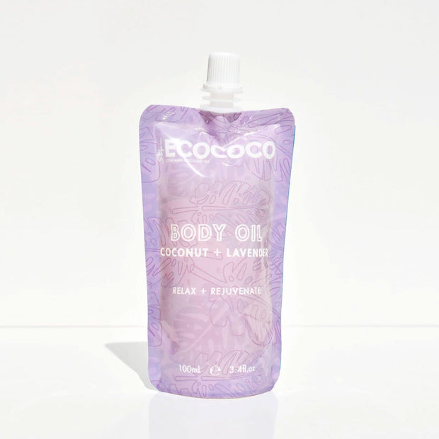 Squeezie Lavender Body Oil