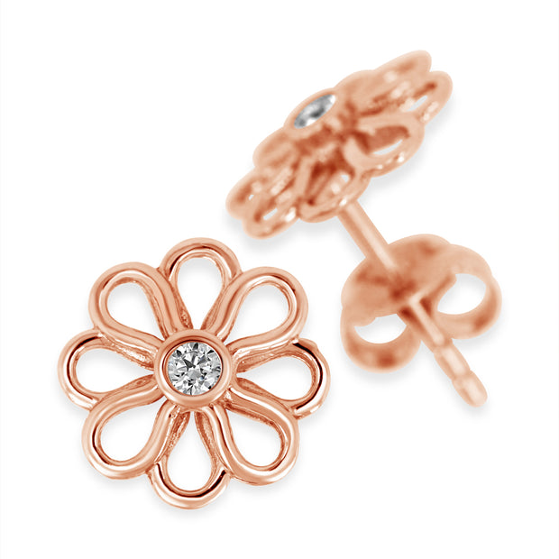 Wildflower Stud Earrings | Little Sparkles