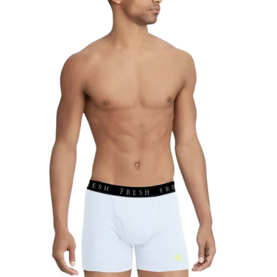 White Luxury Boxer Briefs | Fresh Helps