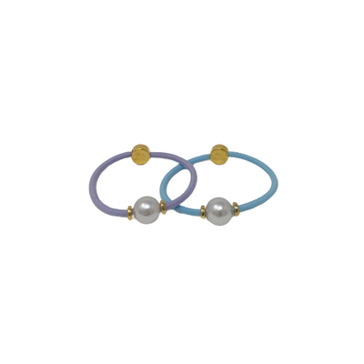 By Lilla Pearl Hair tie gold