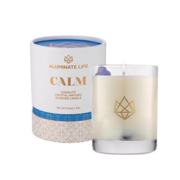 Calm Glass Candle