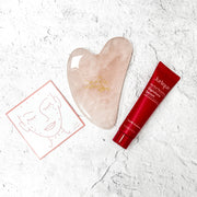 Rose Quartz Gua Sha Gift Set | Live Love Spa Exclusive