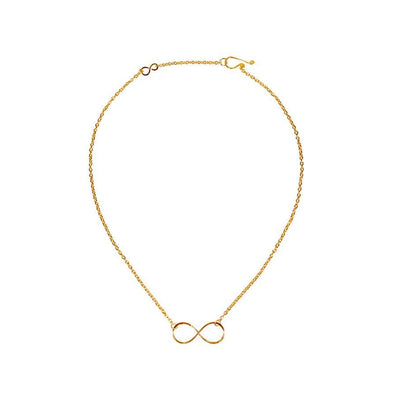 Infinity Necklace (Gold)