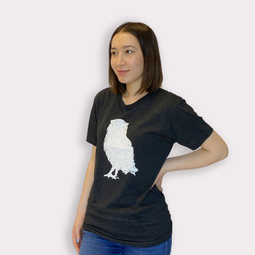 Limited Edition Promotion - White Owl T-shirt | Live Love Spa