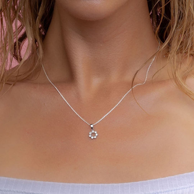 Dainty Cluster Necklace | Little Sparkles