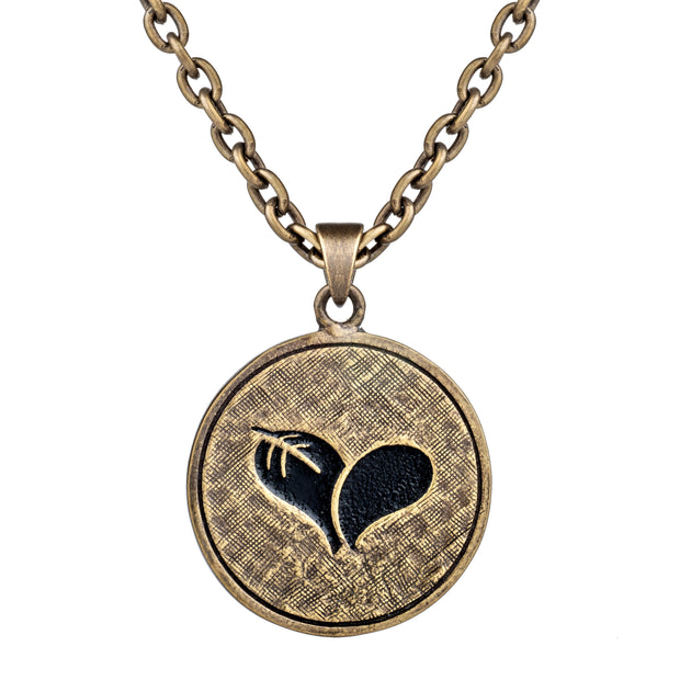 Coin Pendant Necklace | Live Love Spa