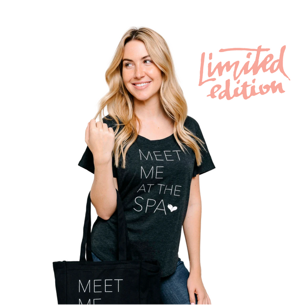 Limited Edition Promotion - Meet Me at the Spa Classic Dolman tee | Live Love Spa