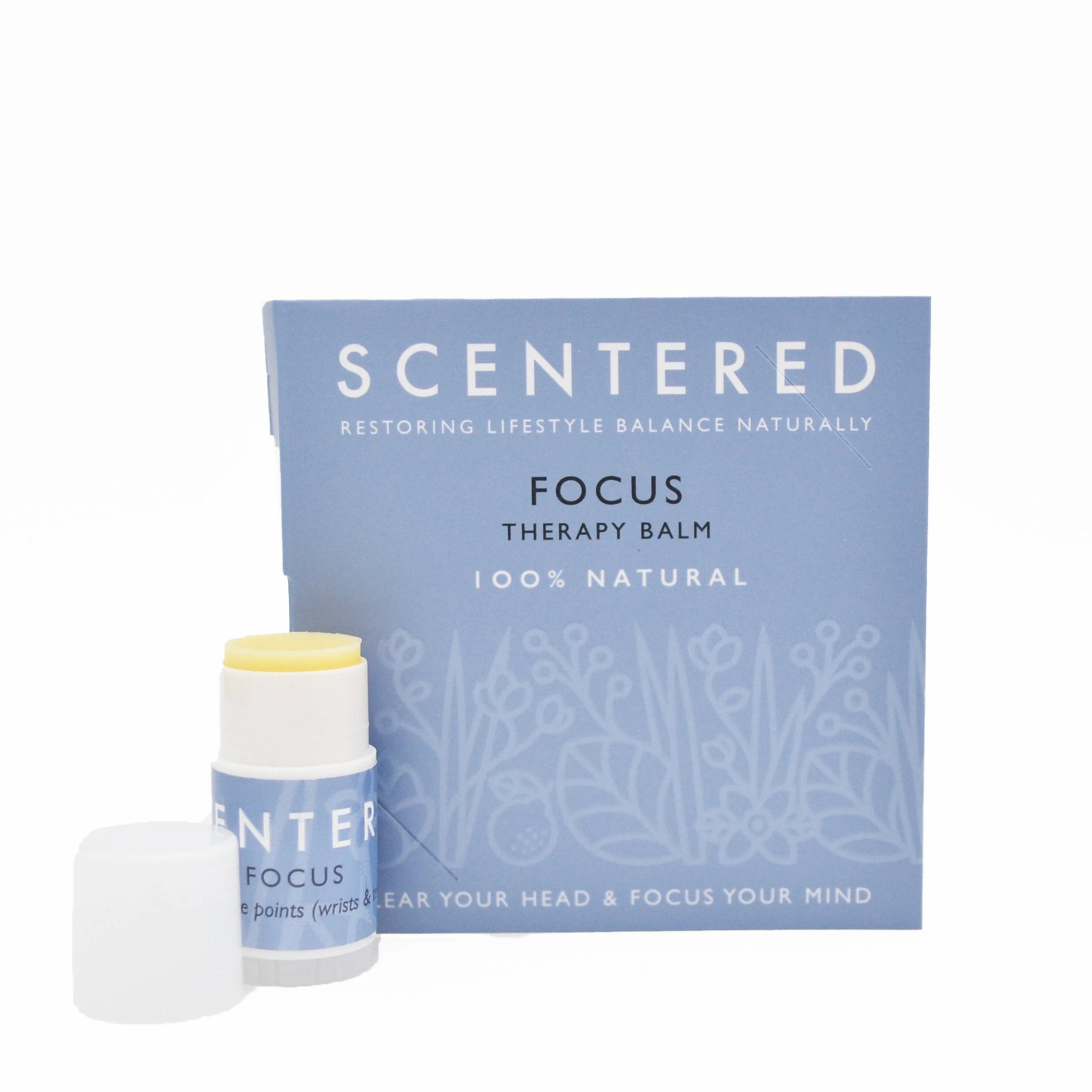 Focus Mini Aromatherapy Balm | Scentered