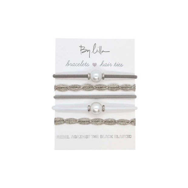 Ministacks Hair Ties - Swan