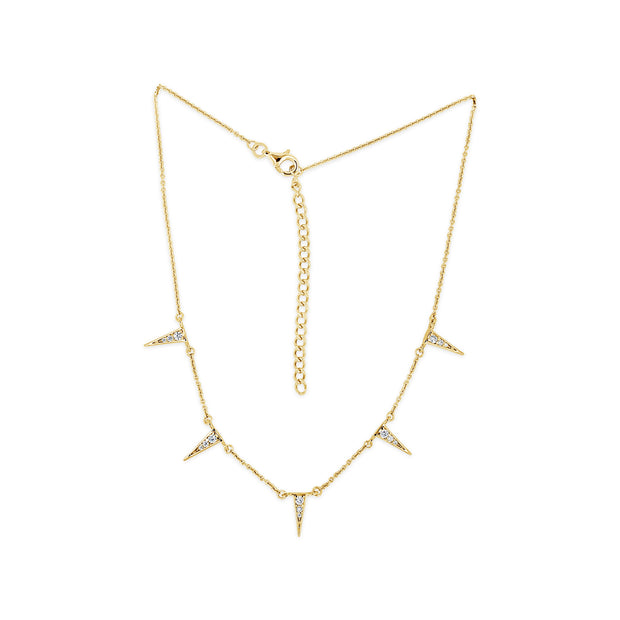 Ragged Point Station Necklace | Little Sparkles