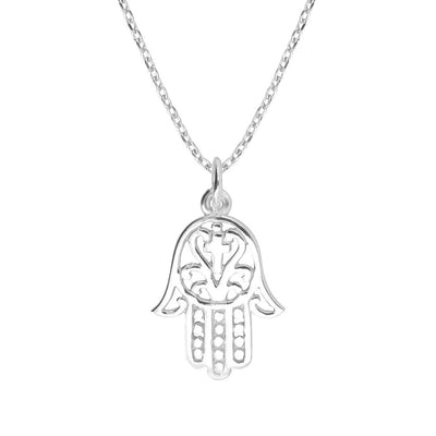 Hamsa Necklace | Little Sparkles