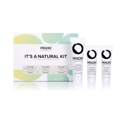 It's A Natural Kit | Priori Skincare