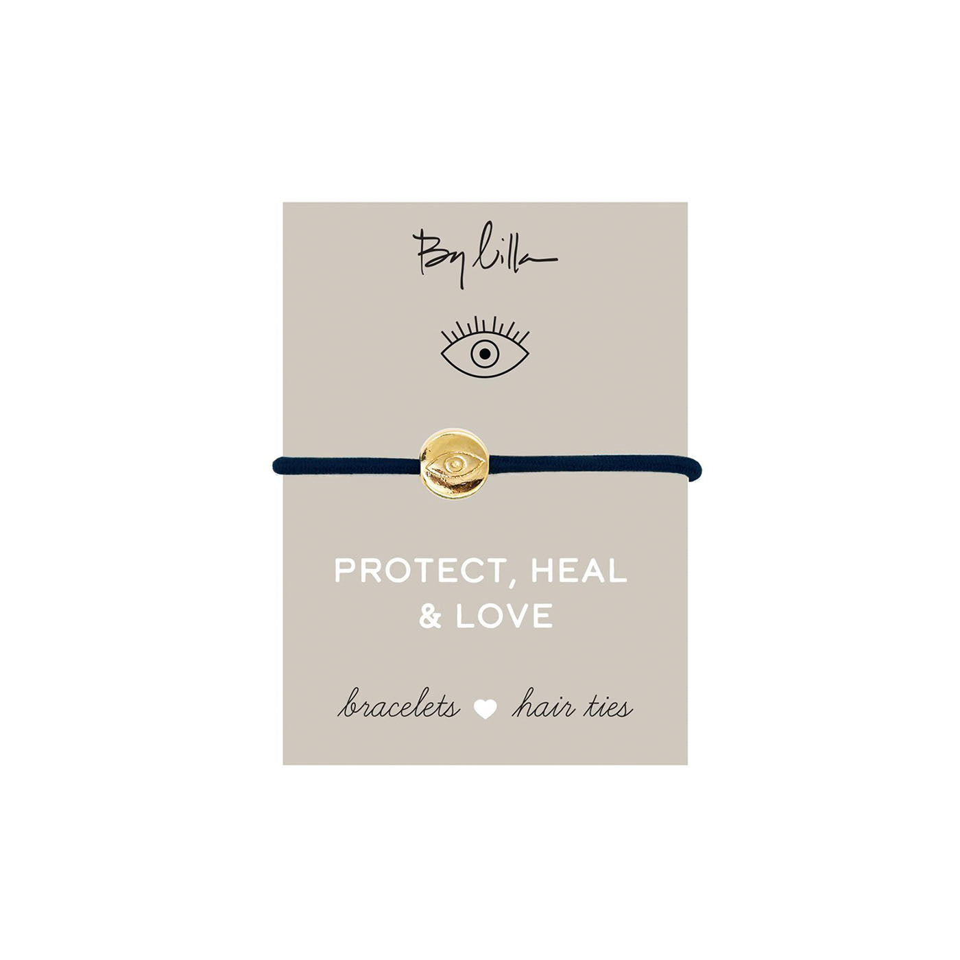 Protect, Heal & Love Hair Tie
