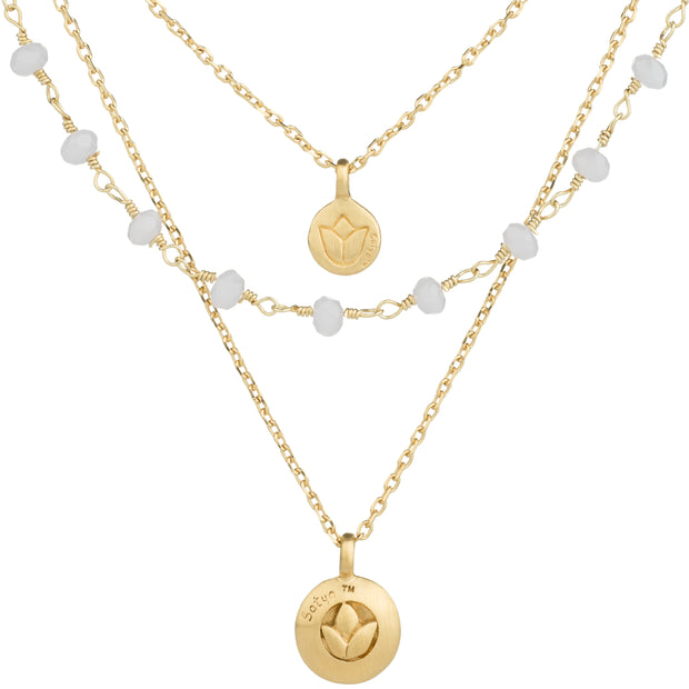 Satya Gold Necklace