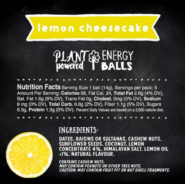 Frooze Balls - Lemon Cheesecake