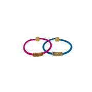 By Lilla Gold shaker hair tie