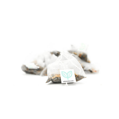Studio Line Morning Mint pyramid bags, 20 count | Studio Line by Sahara Tea