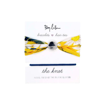 The Knot - Sunflower - Hair Tie & Scarf | By Lilla