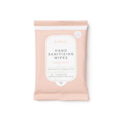 Hand Sanitizing Wipes - Fresh Aloe | Bonblissity