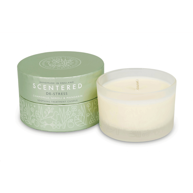 DE-STRESS TRAVEL AROMATHERAPY CANDLE | Scentered