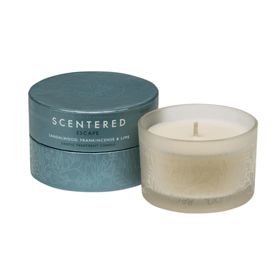 ESCAPE TRAVEL AROMATHERAPY CANDLE | Scentered