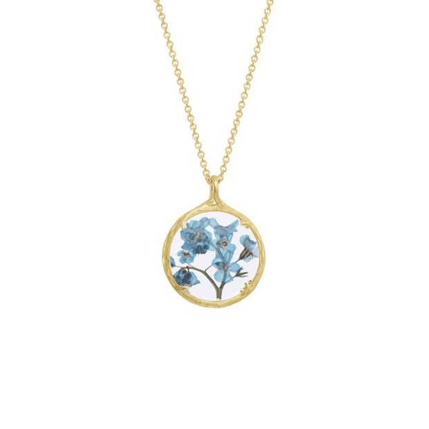 Small Botanical Necklace | Catherine Weitzman Jewelry