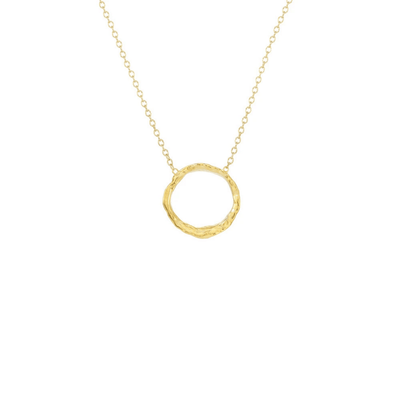 Small Opihi Circle Necklace | Catherine Weitzman Jewelry