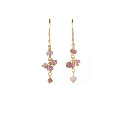 Short Gemstone Dangle Earrings | Catherine Weitzman Jewelry