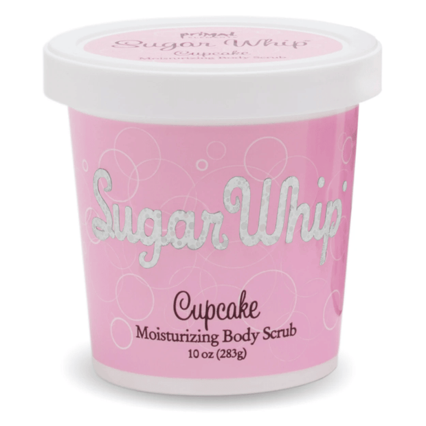 Cupcake Sugar Whip Body Scrub 10 oz | Primal Elements