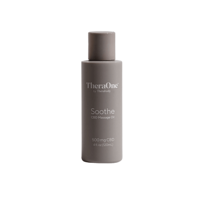 Soothe Massage Oil 4oz | Therabody