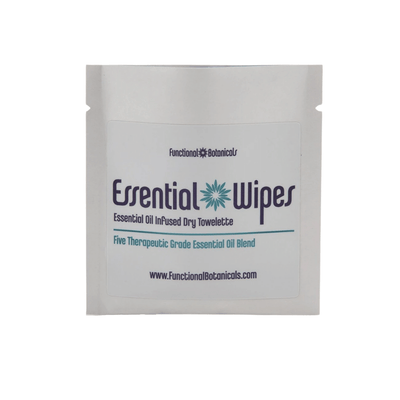 Essential Wipes - Single Sachet | Functional Botanicals