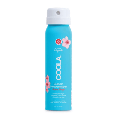 Classic Body Organic Sunscreen Spray SPF 50 (Travel Size) - Guava Mango | COOLA