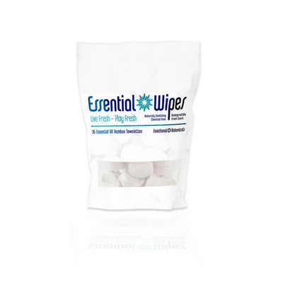 Essential Wipes - Eco Pak (35 wipes) | Functional Botanicals