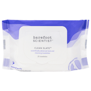 Clean Slate Textured Cleansing Towelettes | Barefoot Scientist