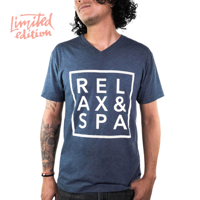Limited Edition Promotion - Relax & Spa Unisex V-neck | Live Love Spa