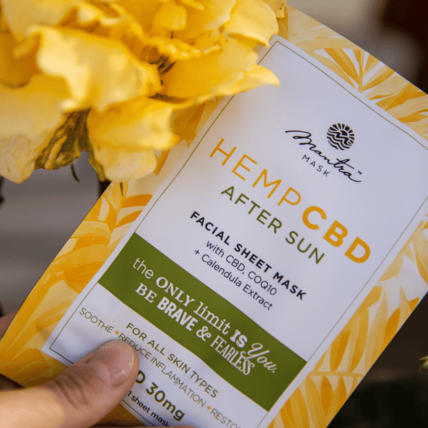 Hemp CBD After Sun | Mantra Mask