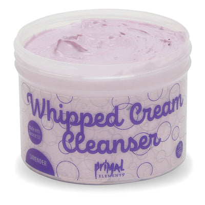 Lavender Whipped Cream Cleanser | Primal Elements