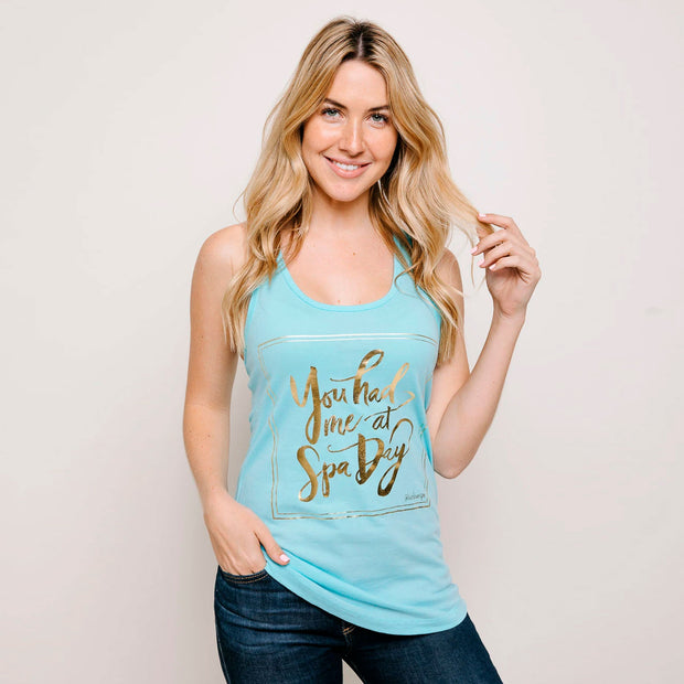 You Had Me at Spa Day Women's Tank Top